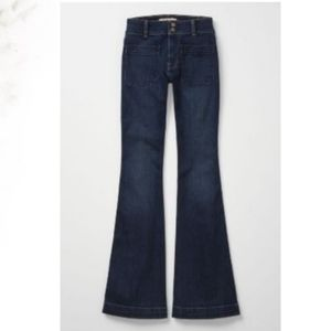 Anthropologie Holding Horses High Rise Flare Jeans